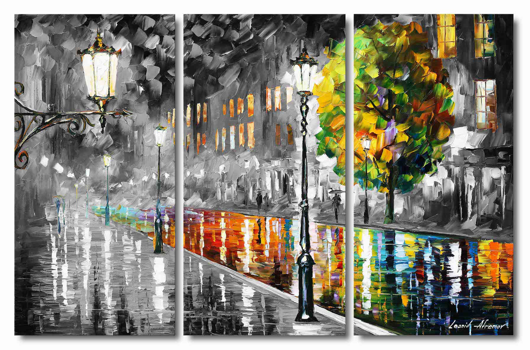 STREET OF ILLUSIONS - Set of 3