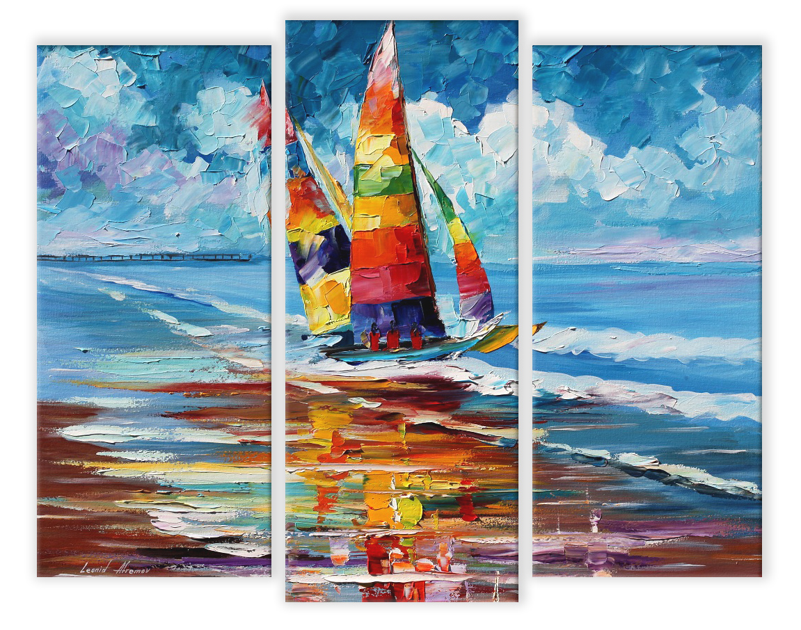 SHORE OF COLORS - SET OF 3