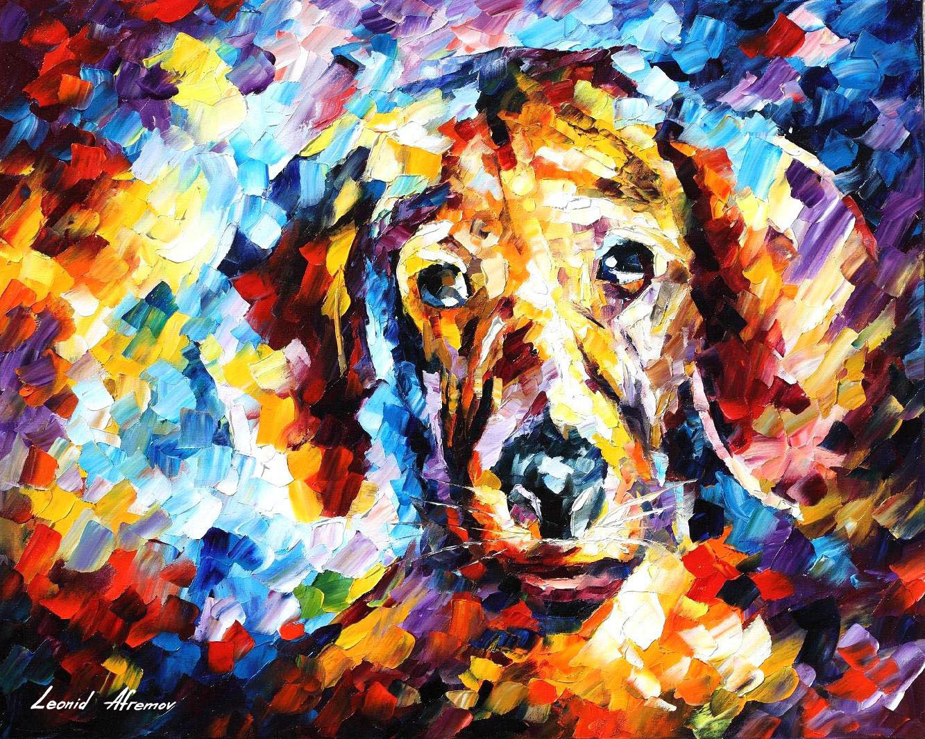 Dogs paintings famous artists best painting 2018 for Best mural artists