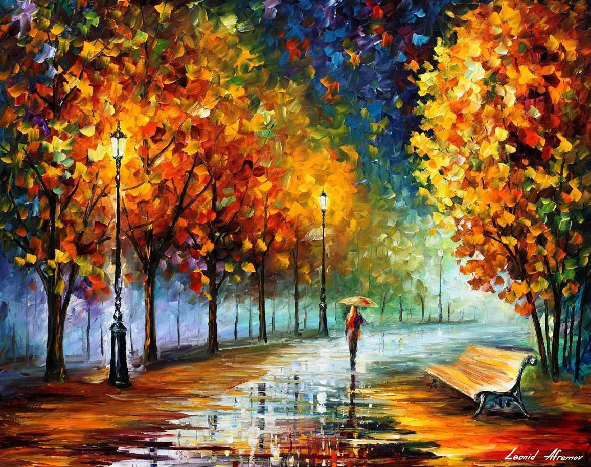 FALL LOVE — contemporary picture oil painting on canvas By ...