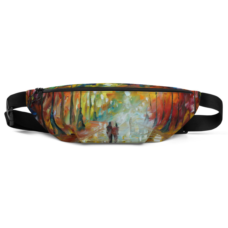 All-Over Print Fanny Pack - Farewell to anger