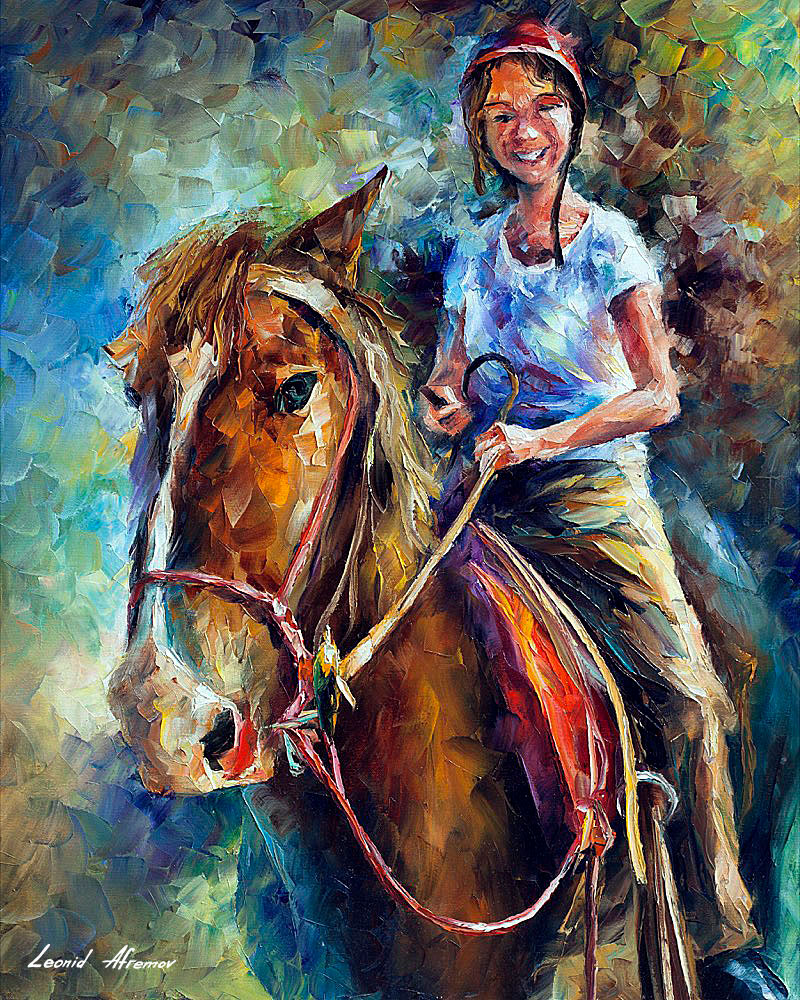 GIRL ON HORSE [ offer 109]