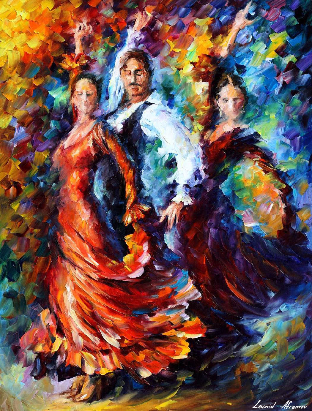 PASSION OF THE DANCE