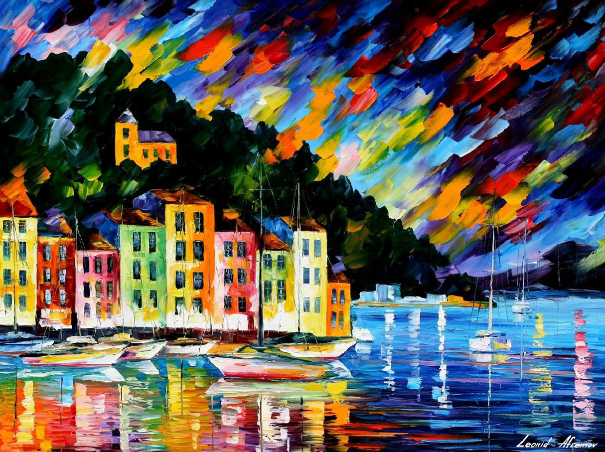 PORTOFINO HARBOUR - BEAUTIFUL ITALY