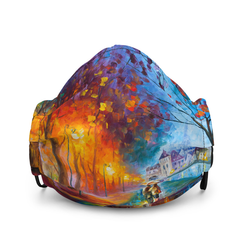 All-Over Print Premium Face Mask - City by the Lake