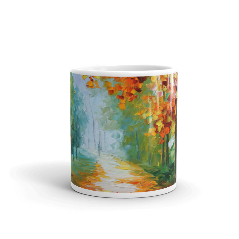 Coffee Mug with print of the painting Evanescing Sight