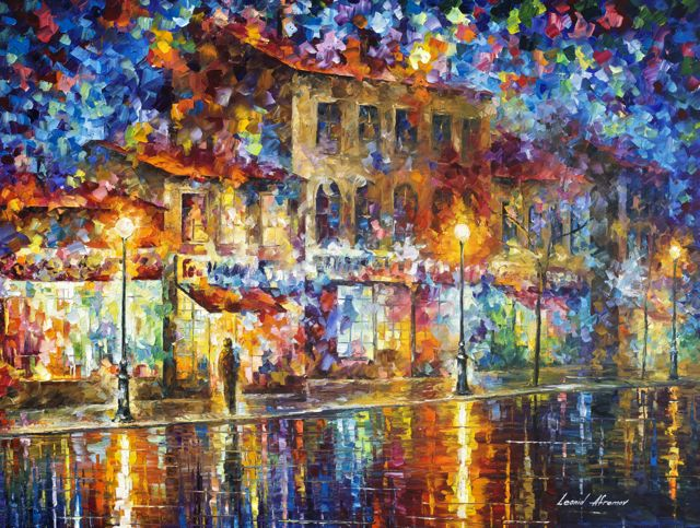 "COLORS OF EMOTIONS - Original Oil Painting On Canvas By Leonid Afremov - 40""X30""  (100cm x 75cm)"