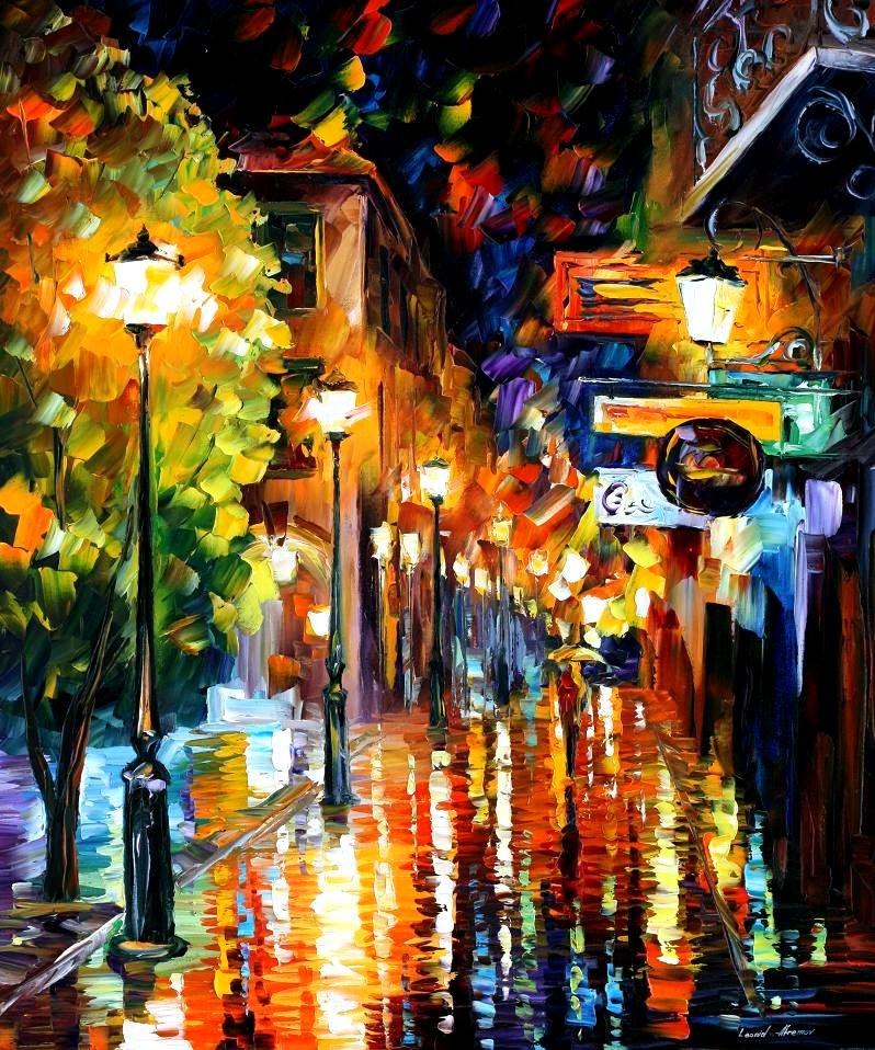 night city colors palette knife oil painting on canvas by leonid  contemporary art criticism contemporary art essay city colors