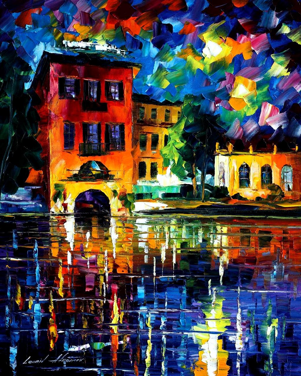 RAIN IN PORTUGAL \u2014 oil painting on canvas