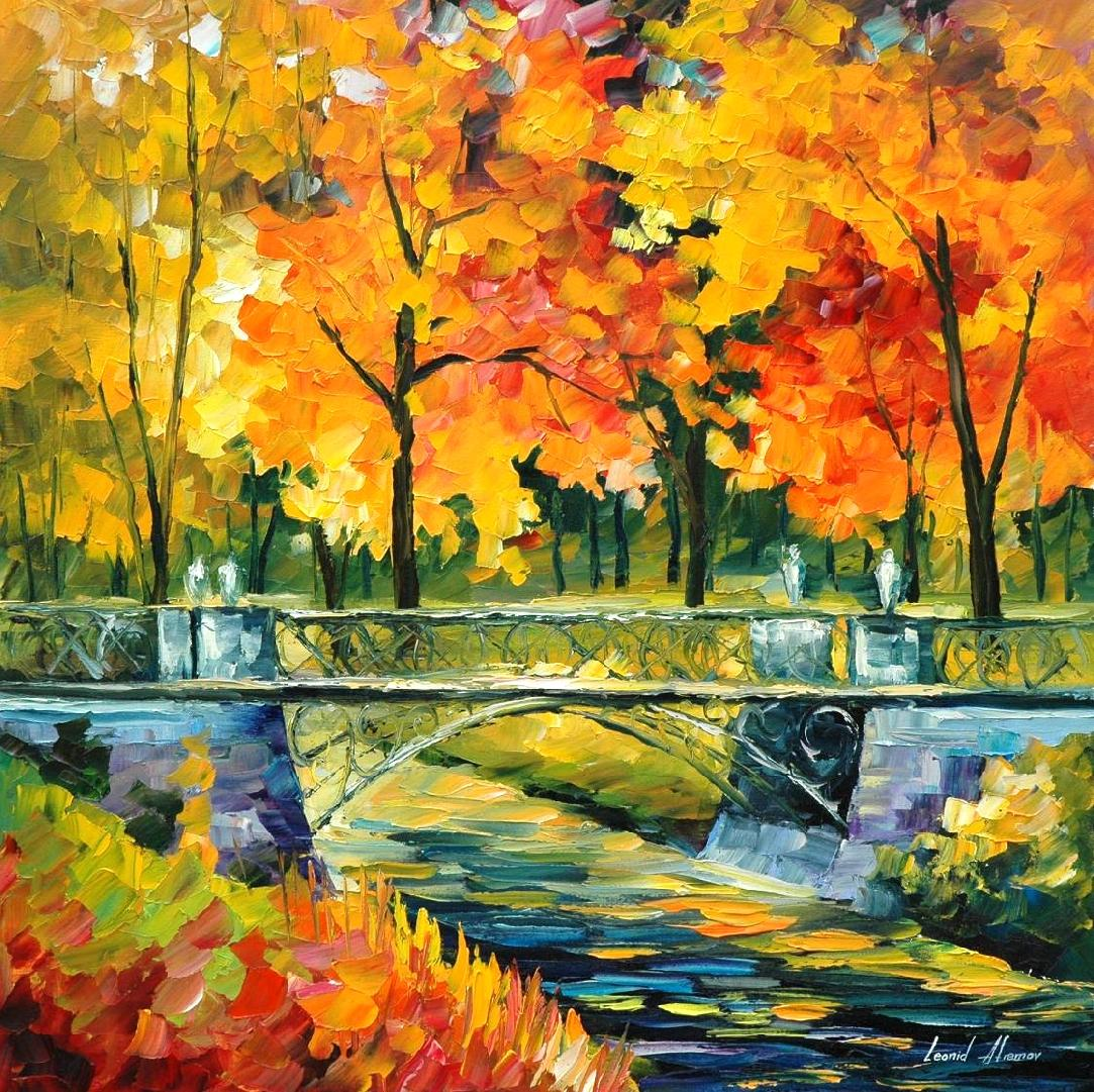 Leonid Afremov Oil On Canvas Palette Knife Buy Original Paintings Art