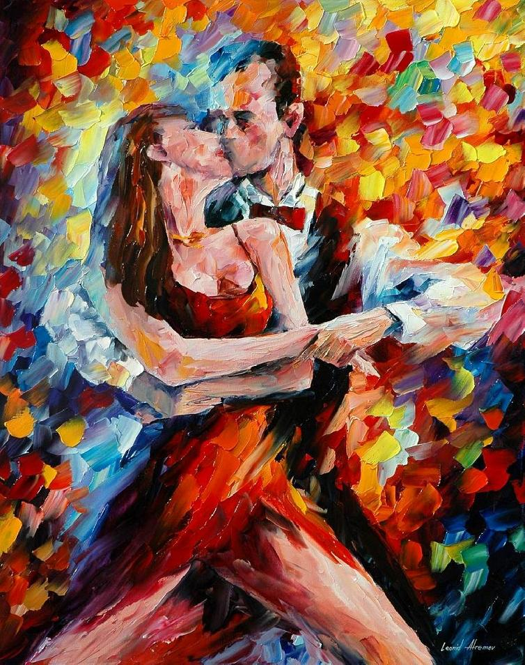 IN THE RHYTHM OF PASSIONATE TANGO --