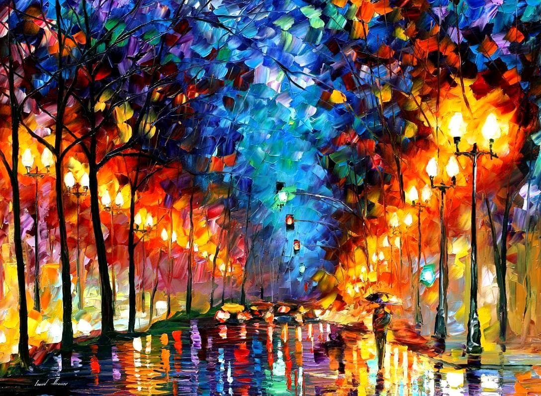 Alfred De Vigny Quotes 44 Wallpapers: PALETTE KNIFE Oil Painting On Canvas By