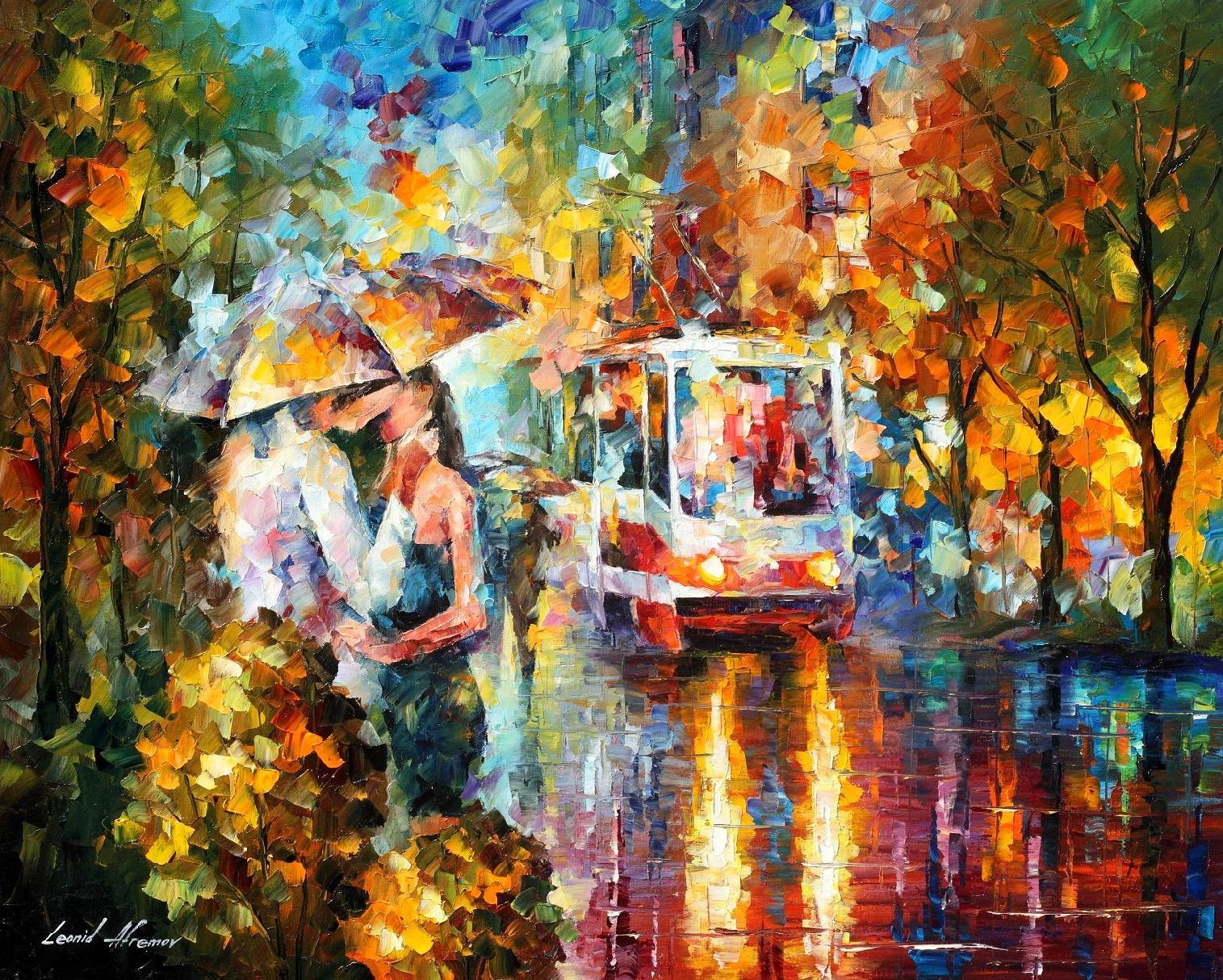 The Passion Original Oil Painting On Canvas By Leonid Afremov 24