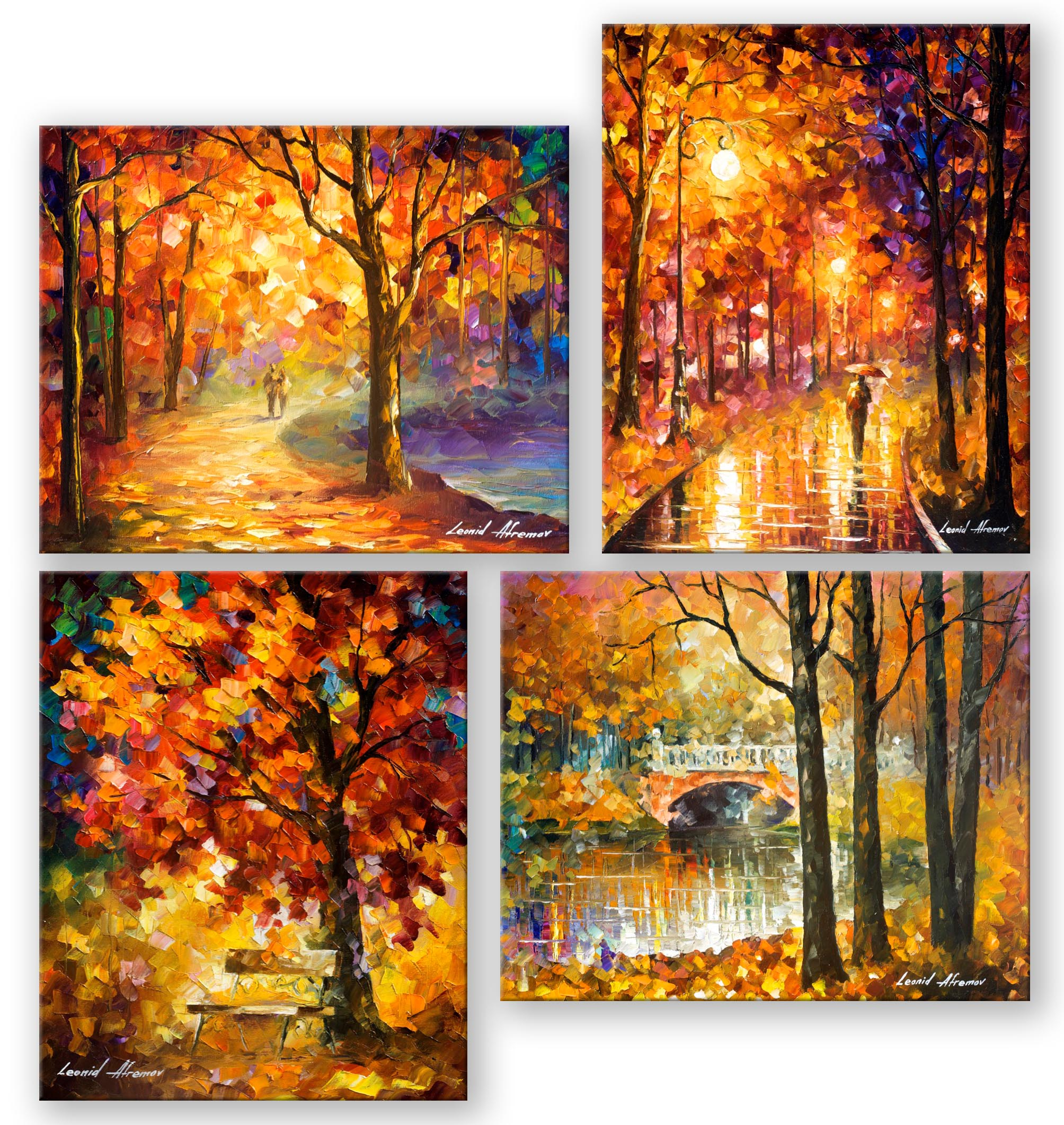 My 4 most favorite fall paintings - photo#36