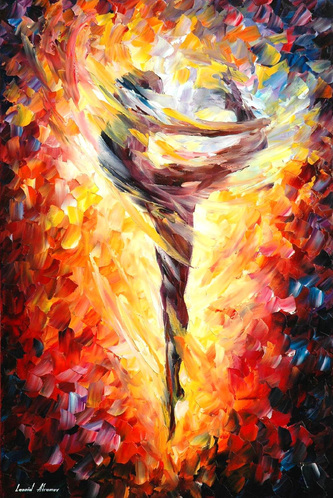BALLET 3 — Palette knife Oil Painting on Canvas by Leonid Afremov ...