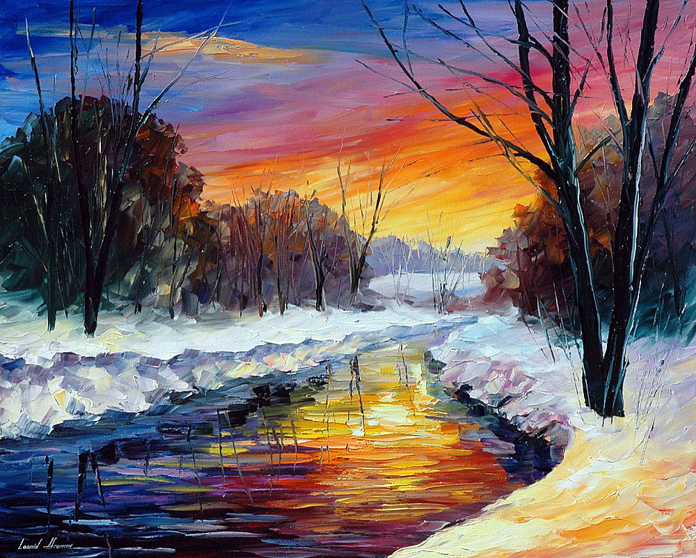 Images Of Palette Knife Church Landscape Paintings
