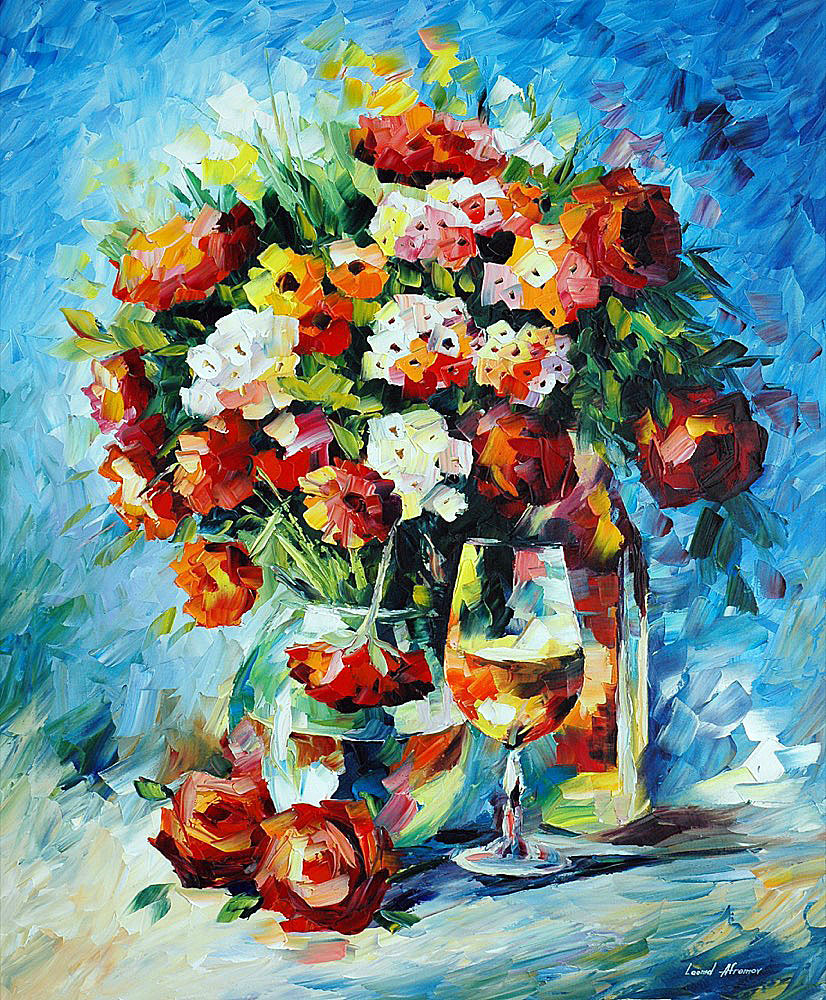 FLOWERS AND WINE 1