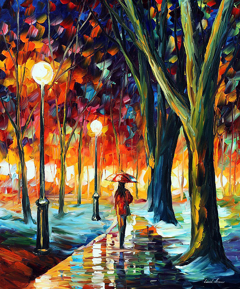 Artists: LONELY GIRL - Oil Painting
