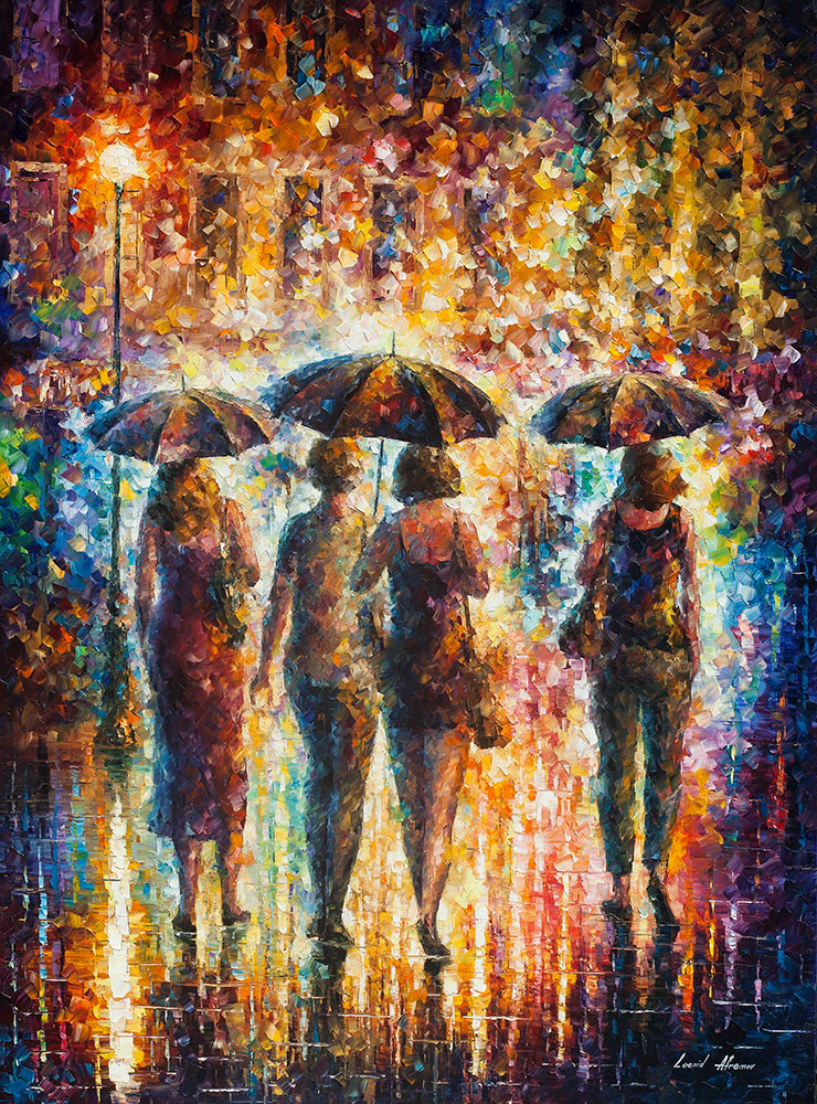 FRIENDS UNDER THE RAIN 3