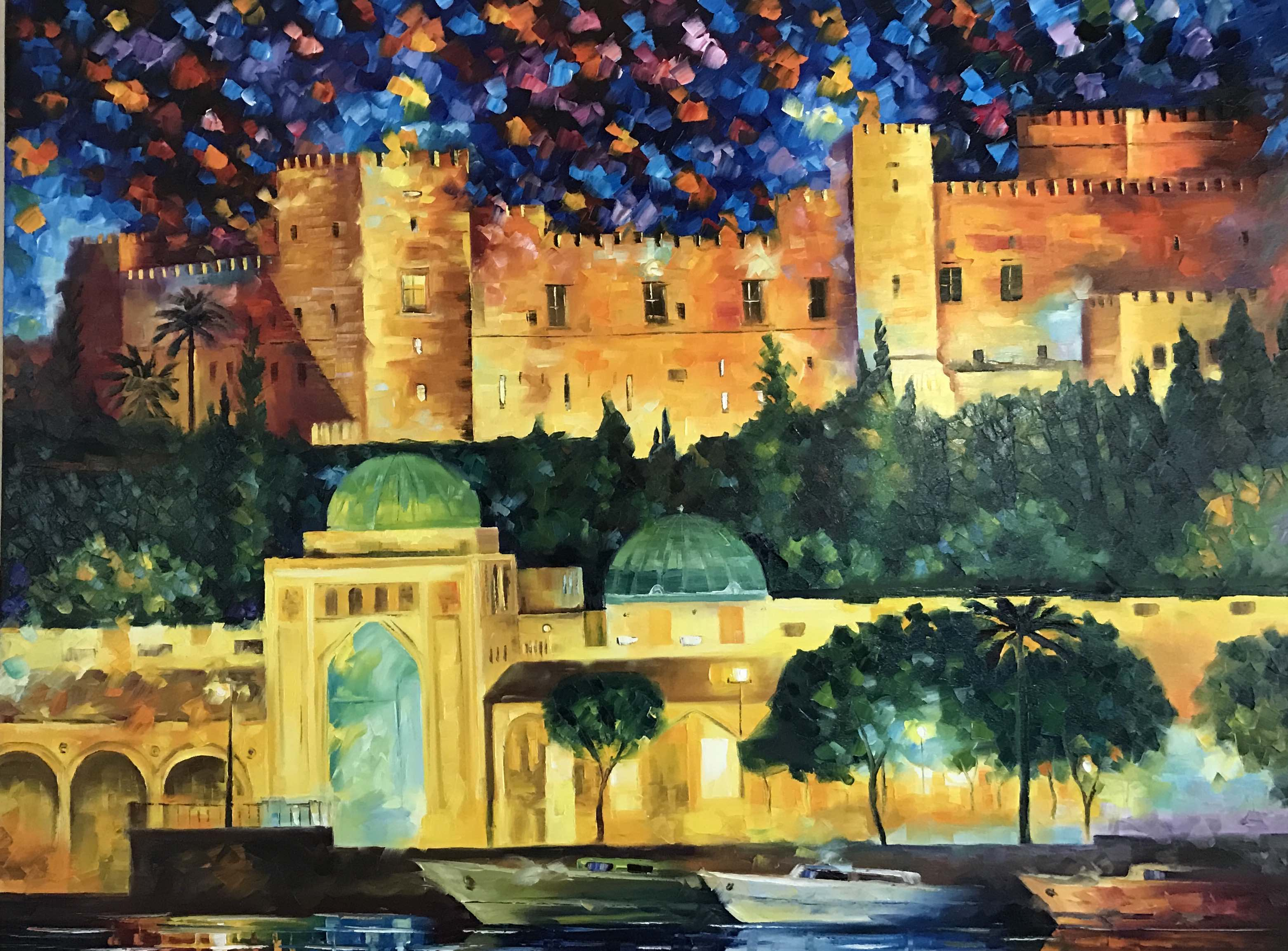 The Nights of Rhodes 36x48
