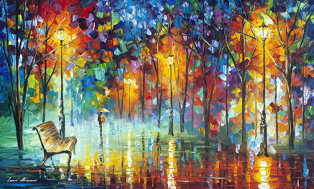 Hidden Way Oil Painting On Canvas By Leonid Afremov