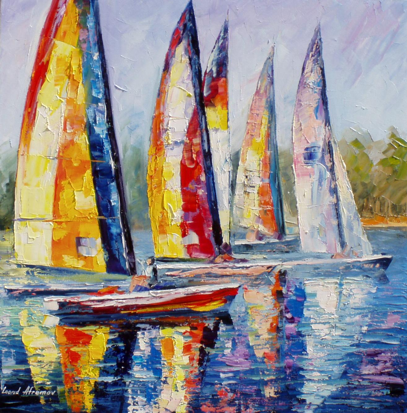 Acrylic Painting Palette Knife Easy