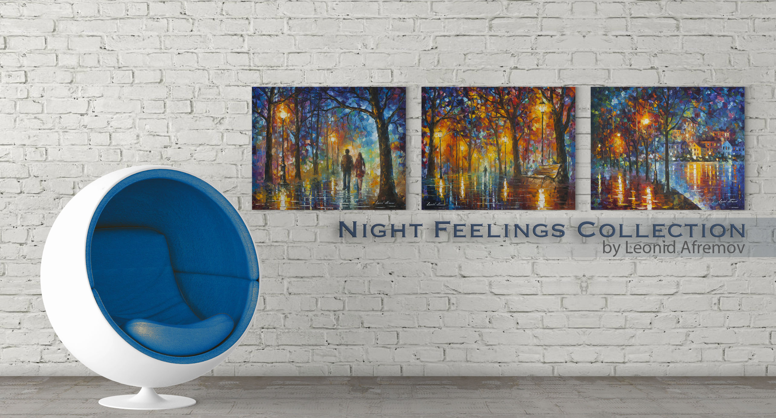 Night Feelings collection - Set de 3