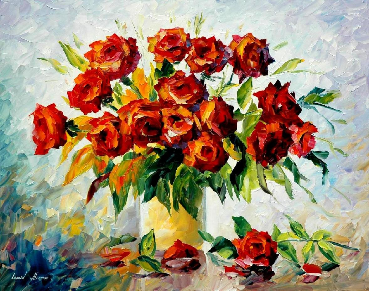 Famous all red paintings