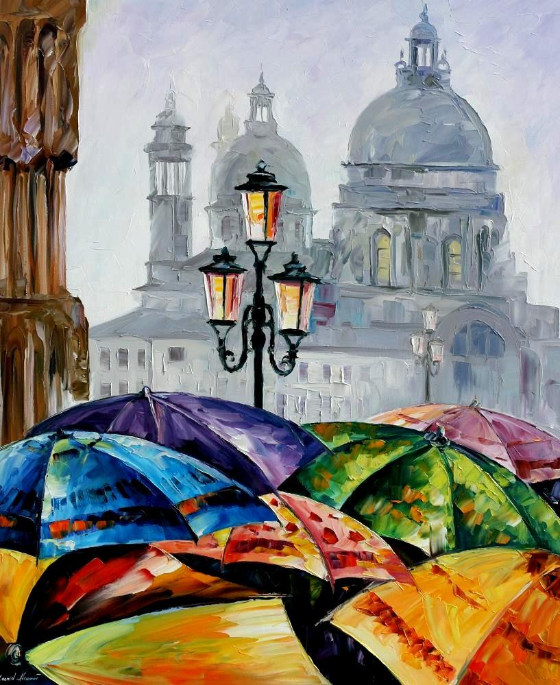 RAINY DAY IN VENICE [ offer 109]