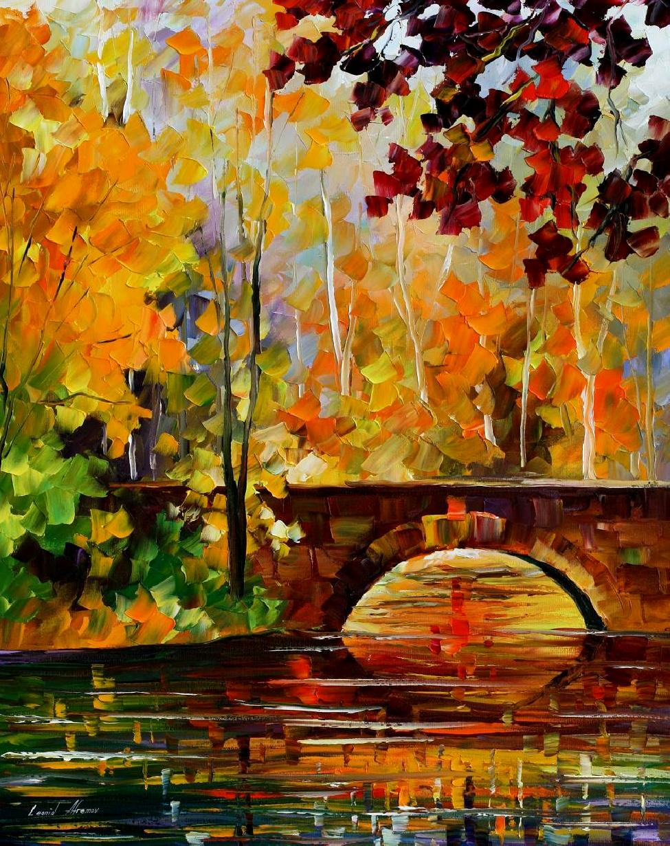 Autumn oil paintings best painting 2018 for Best mural artists
