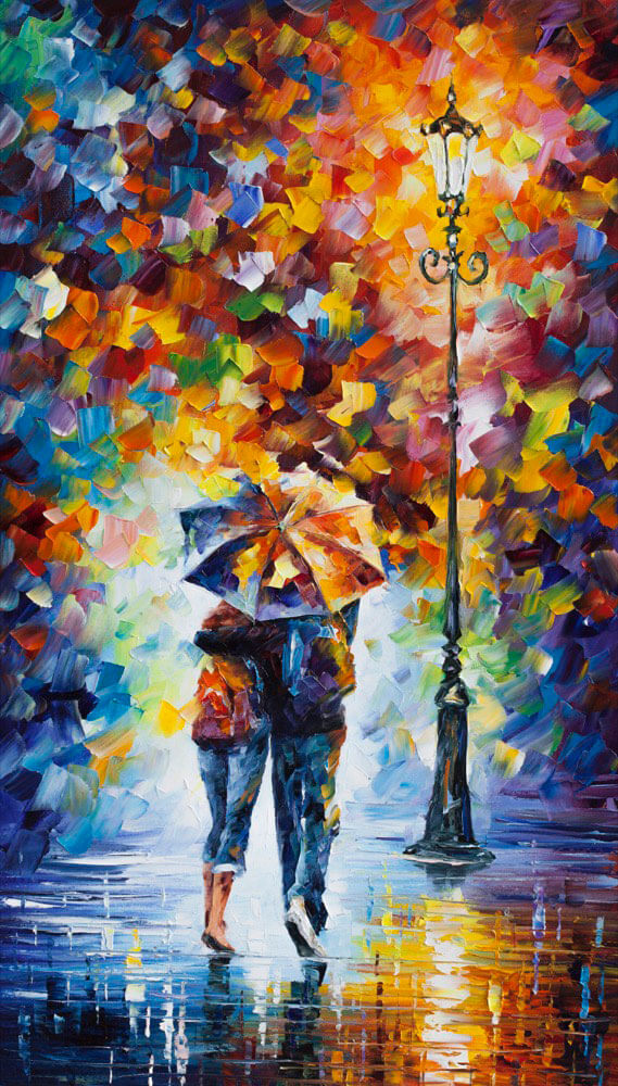 LOVERS UNDER ONE UMBRELLA