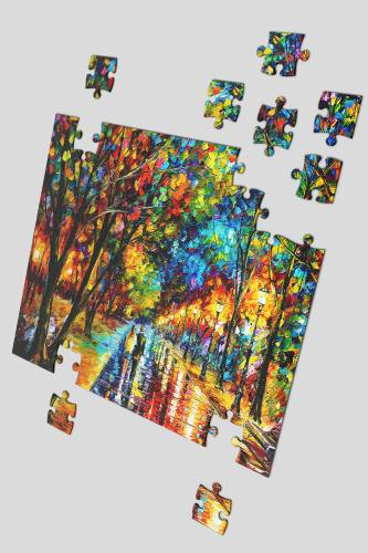 Jigsaw Puzzle WHEN DREAMS COME TRUE size A3