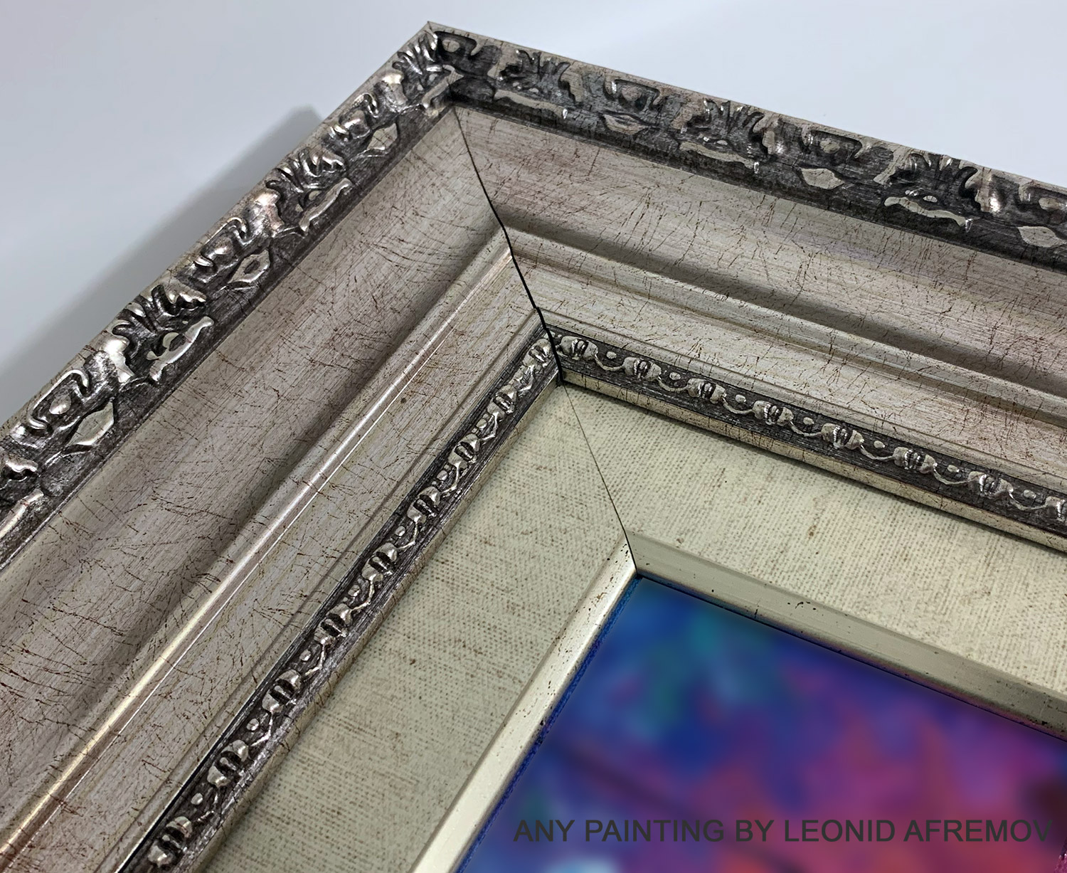 Frame With Liner - SILVER PATTERN