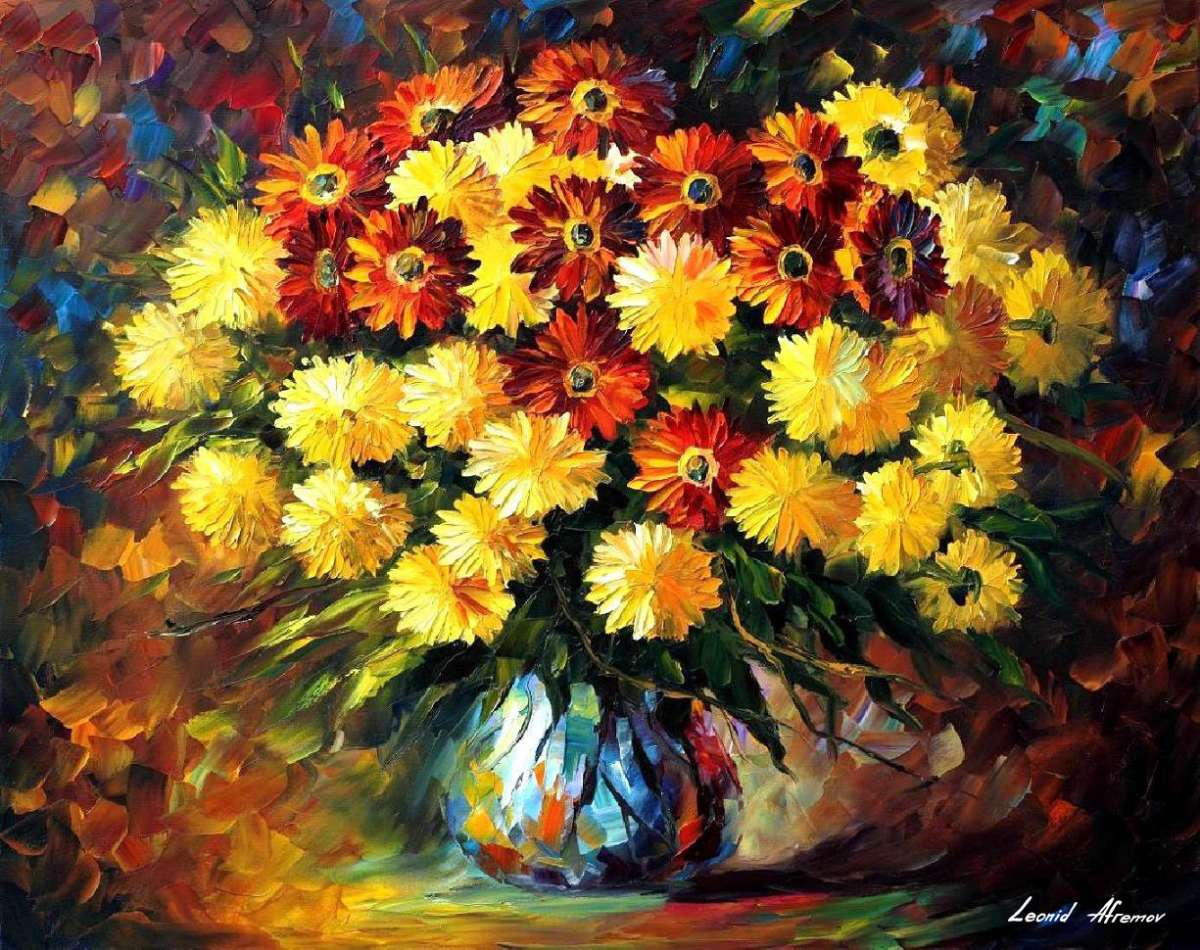flores de color amarillo