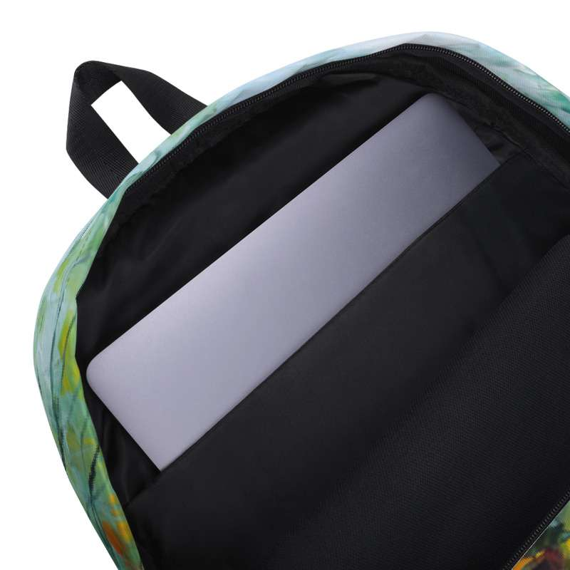 Backpack with print of the painting Fog Passion
