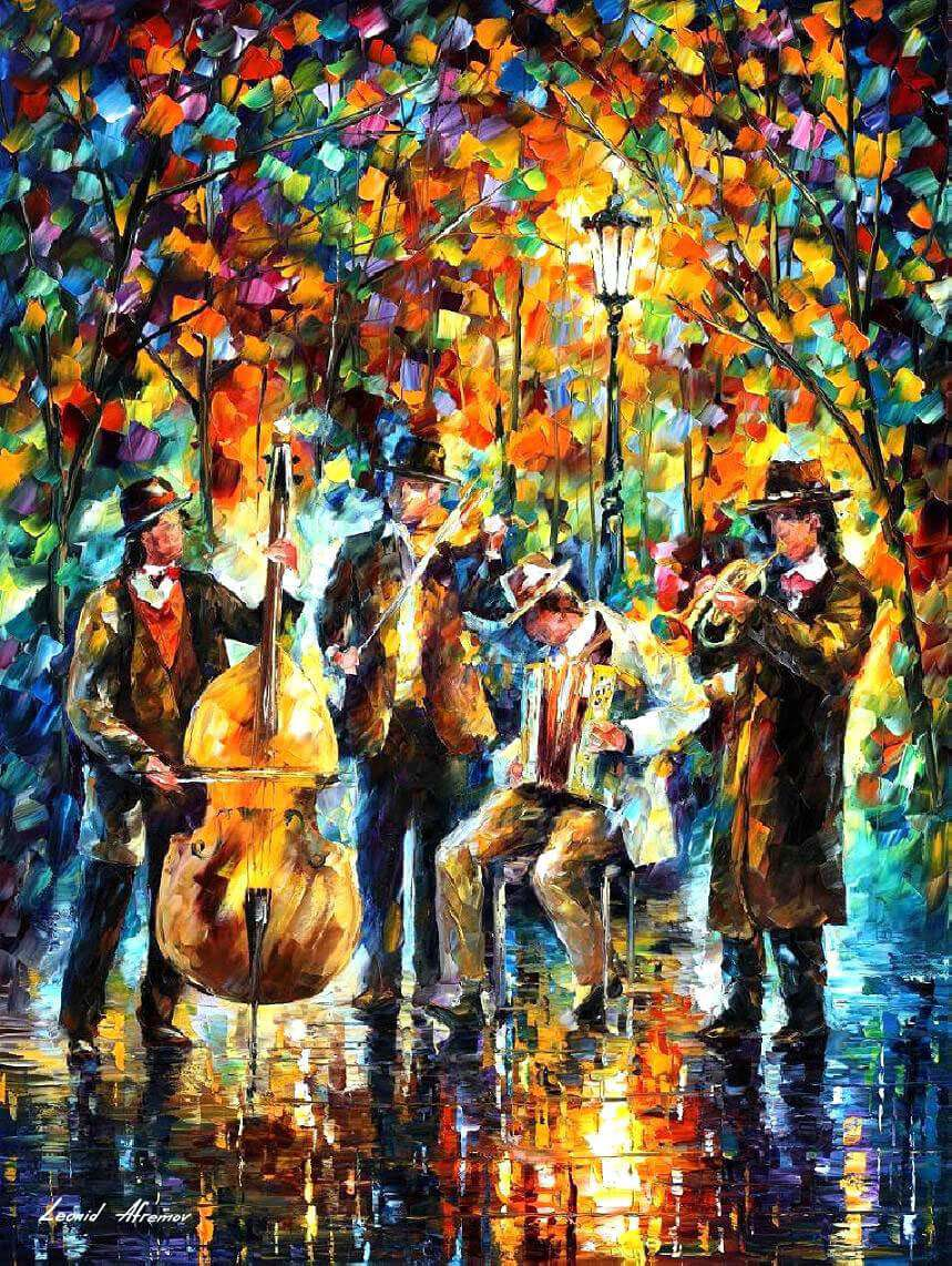 music painting, music painting canvas