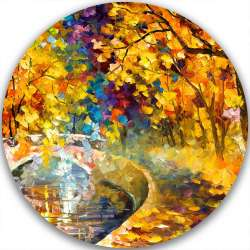 AROUND THE BRIDGE - LIMITED EDITION CIRCLE GICLEE