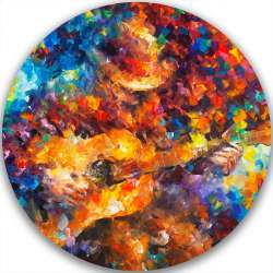 GUITAR BALLAD - LIMITED EDITION CIRCLE GICLEE
