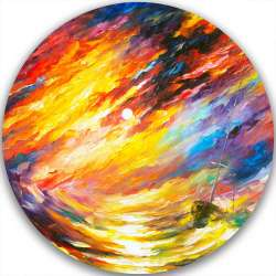 STORM THAT NEVER ENDS - LIMITED EDITION CIRCLE GICLEE