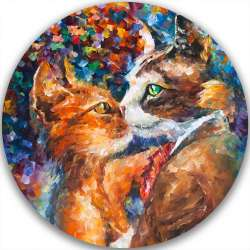 PASSION OF THE CATS - LIMITED EDITION CIRCLE GICLEE