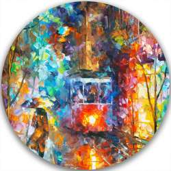 EVENING TROLLEY - LIMITED EDITION CIRCLE GICLEE