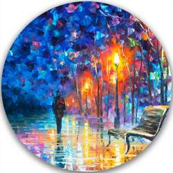 ABANDONED BY WINTER - LIMITED EDITION CIRCLE GICLEE