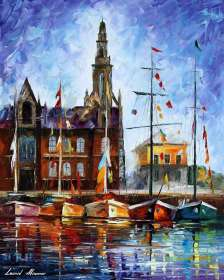 ANTWERP - BELGIUM PORT - LIMITED EDITION GICLEE
