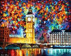 BIG BEN LONDON 2012 - LIMITED EDITION GICLEE