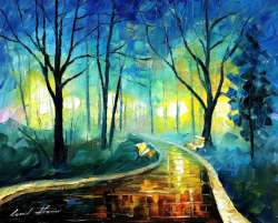 BLUE FOG - LIMITED EDITION GICLEE
