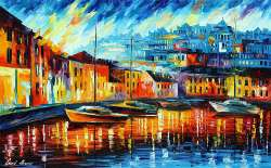 BLUE HARBOR - LIMITED EDITION GICLEE