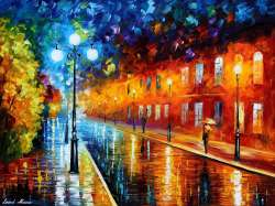 BLUE LIGHTS AT NIGHT - LIMITED EDITION GICLEE