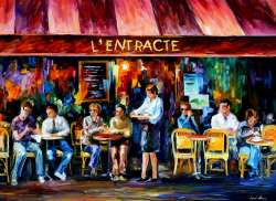 CAFE IN PARIS - LIMITED EDITION GICLEE