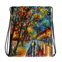 All-Over Print Drawstring Bag - When dreams came true