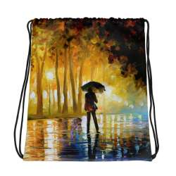 All-Over Print Drawstring Bag - Bewitched park